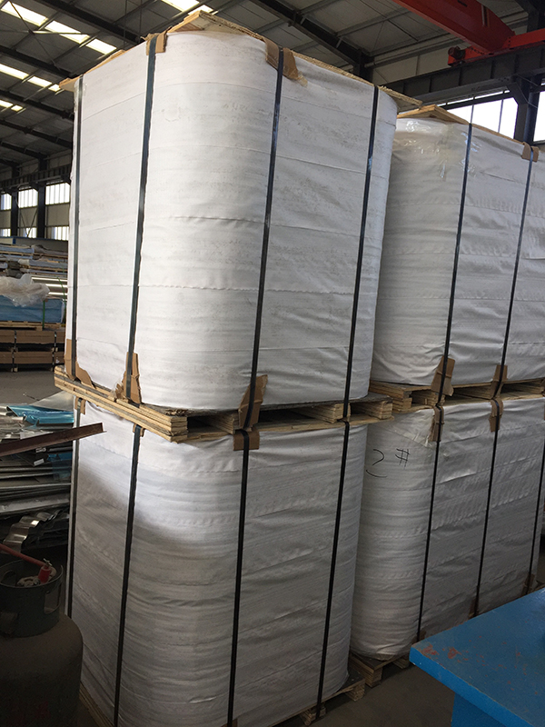 1100 3105 3003 Aluminum Roll Jacketing Coil